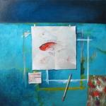 Studio Still Life with Fish Study ll